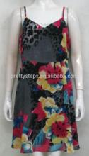 2015 de ropa a granel sexy fotos de las niñas para mujer sin vestido de guangzhou alta impreso para mujer vestidos