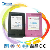 Remanufactured ink Cartridge for hp 122 XL Compatible CH564HE best selling in china