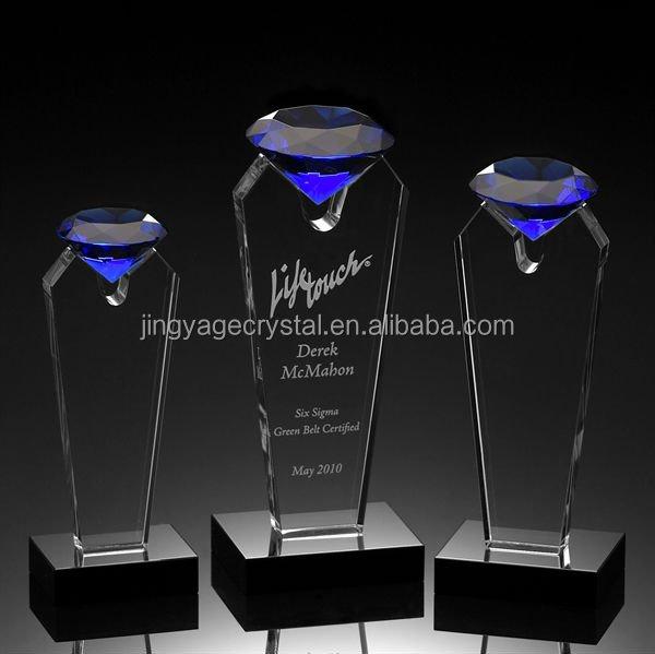 Sapphire Flare Crystal Award