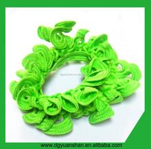Colorful plicated elastic hair ties ,hair bands,hair accessories