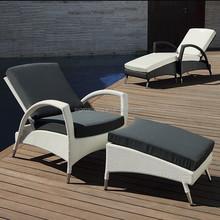 2015 Outdoor Lounge Chairs Patio furniture rattan sun loungers