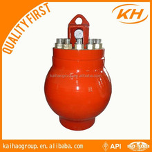 api standard pulsation dampener for mud pump