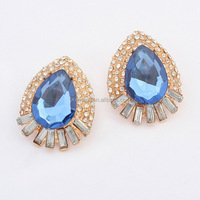 E1194 2015 New high end fashion women crystal earring wholesale Newest Antique Victorian Bohemian Earrings Free shipping