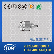 MINI-UHF rf coaxial electrical connector,strip connector