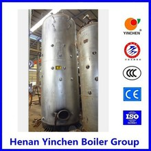 Chain grate stoker pellet fired boiler or stove with hot water
