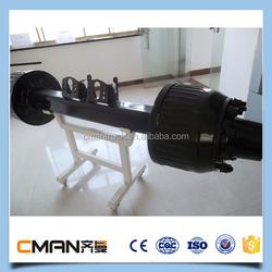 China semi-trailer 16t Round Beam BPW Axle for sale