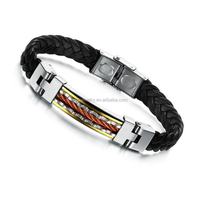 factory hot sell stainless steel product wholesale wrap bracelet latest fashion jewelry trends