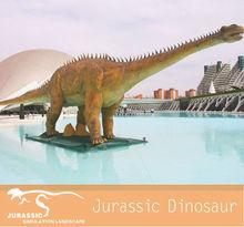 Realista simulación de dinosaurios mecánicos