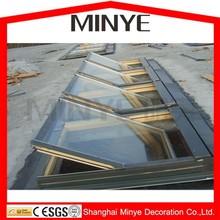 aluminum cladding wood roof windows/top hung skylight window