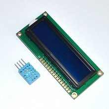 Trade Assurance Gold Supplier DHT11 Digital Humidity and Temperature Sensor + 1602 16x2 LCD Character SPLC780D