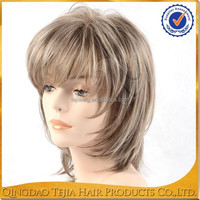 hot sale japanese short hair style, lacefront synthetic wig, lace frontal wigs