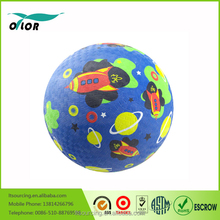 """China 8.5"""" rubber playground balls from wuxi factory"""