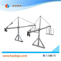 hot galvanized suspended working platform swing stage scaffolding