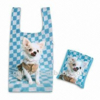 2012 High quality polyester shopping foldable bag