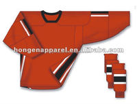 Hongen apparel 2014 best selling custom hockey jersey cheappest ice hockey jersey