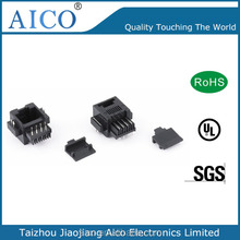 Side Entry 1.5A Current Rating rj12 smt pcb jacks
