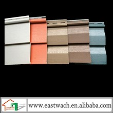 PVC siding applied in any weather and to almost any surface