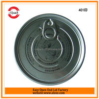 Tin food can open lid for corned beef and mutton