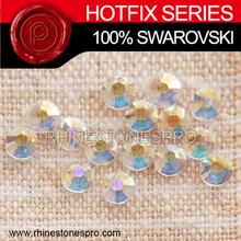 Professional Swarovski Elements Transparent transmission Hotfix (TRAN) 34ss Crystal Iron On Hot Fix Rhinestone