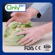 """XXL 9.0""""length smooth vinyl gloves in food with CE/ISO"""