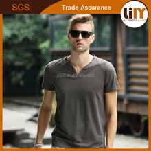high quality 100 polyester v neck t shirt bulk plain white t shirts stylish v neck men t shirt