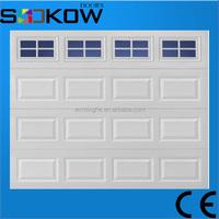 sectional garage door/motorized garage door/foam insulated panels