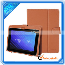 Colorful multi-stand 9.7 Inch leather case for tablet