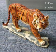wild animal home garden decoration tiger figurine sculpture