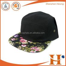 أسود الزهور للبيع لوحة 5 snapback كاب