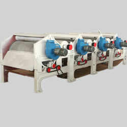 Cleaning machine for recycling kinds waste textile materials