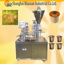 automatic K Cup Filling Machine/coffee k cup making machine/k cup fill seal machine