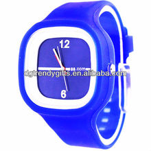 Wholesale Silicone Rubber Jelly watches 10 colors