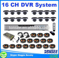 Tonsee new 16 ch DVR security system,low cost dvr cctv camera,external hdd