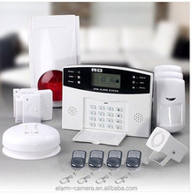 Every family can afford GSM home intruder alarm ! home burglar alarm system for Auto-dial/SMS/Monitor/Intercom/Spanish