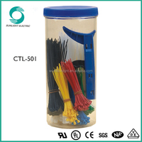 DIY package flexible wire cable tie