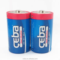 Excellent Primary Zn-MnO2 Battery D Size lr20 1.5v battery