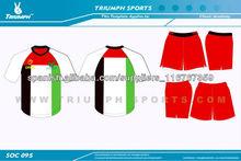 prendas de fútbol personalizadas