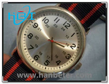 China manufacturer offer high quality interchangeable fabric strap watches nylon