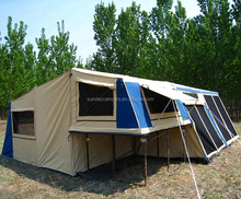 off road unique design 4x4 camper trailer top tents with soft floor