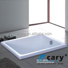 Acrylic WLS-8842standard bathtub size
