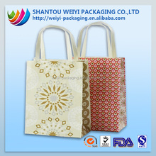 promotion luxury gift paper shopping bag supplier