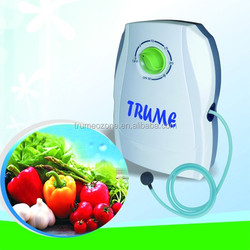solar powered air purifier ozonizer for washing vegetables & fruits air purifier