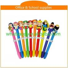 diy cartoon polymer clay ball pen erasable pens pilot