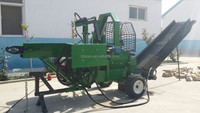 22T DIESEL firewood processor with sawing