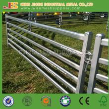 2100mm*1800m metal pre galvanized 6 rails Cattle yard Panels
