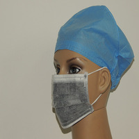 Guangzhou Disposable Four Layer Industry Charcoal Activated Carbon Mask Filter Antivirus Bacteria