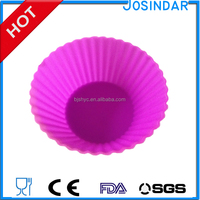 silicone soap molds wholesale silicone round shape baking cups pvc box packing baby muffin cakecup mold