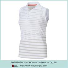 no sleeve women s polo shirt