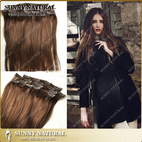 10-28inch clip in human hair extensions natural wavy brazilian clip in hair extensions 120g/set
