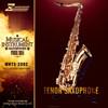 Beautiful chinese woodwind instrument saxophone tenor